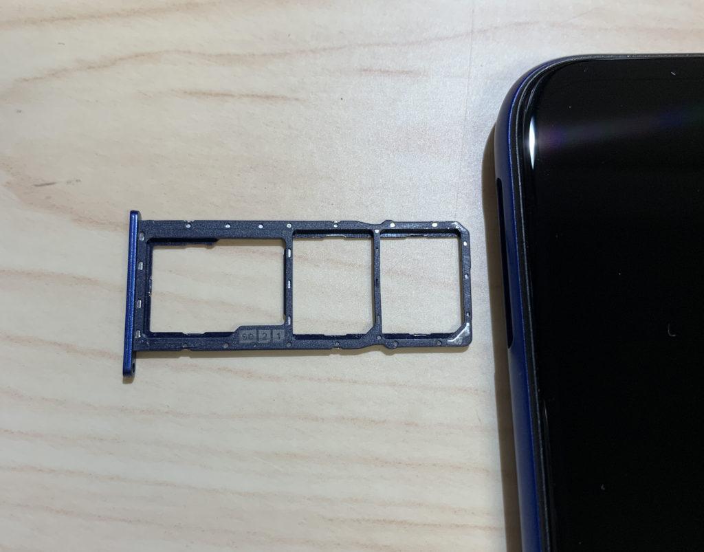 ZenFone Max (M2)のトリプルスロット